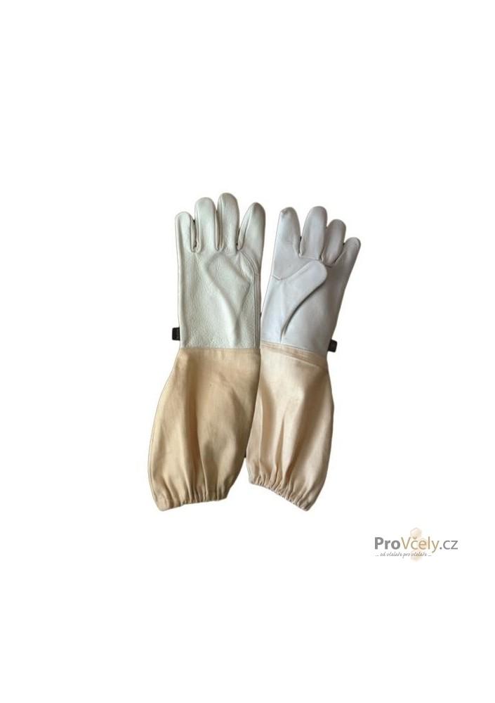 Včelařské rukavice jemná kůže vel. 12