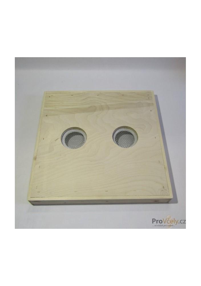 Krmné víko se 2 otvory pro úl 39x zateplený 2cm i CD